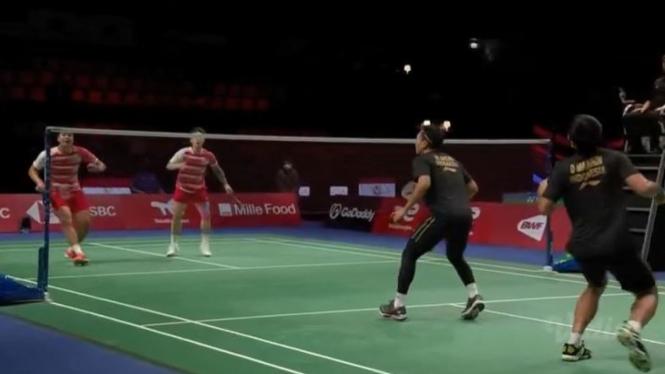 Mohammad Ahsan/Daniel Marthin menghadapi Lu Ching Yao/Yang Po Han