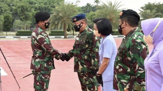 VIVA Militer: Wakasau resmi naik pangkat jenderal bintang tiga TNI AU