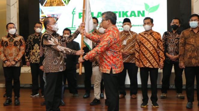 Pelantikan Perhimpunan Sarjana Pertanian Indonesia (PISPI) periode 2020-2025