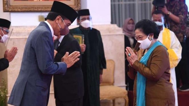 Megawati Soekarnoputri Dilantik Presiden Sebagai Ketua Dewan Pengarah BRIN