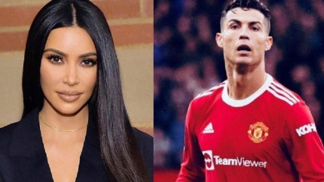 Kim Kardashian dan Cristiano Ronaldo