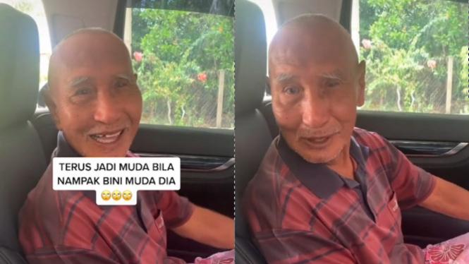 Viral Anak Antar Bapak ke Rumah Istri Muda (TikTok/ina.azelea)