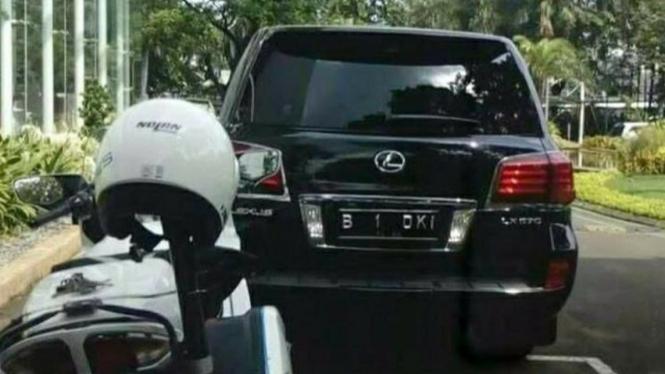 Lexus LX 570, mobil andalan Gubernur Anies Baswedan