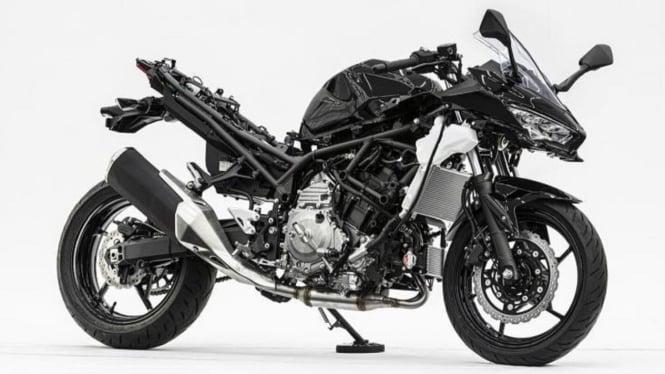 Prototipe Motor Hybrid Kawasaki