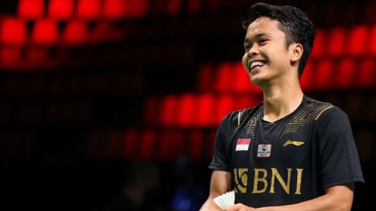 Tunggal putra Indonesia, Anthony Sinisuka Ginting di Piala Thomas