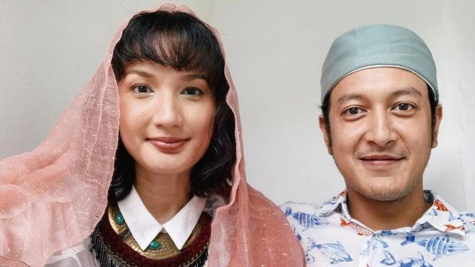 Nadine Chandrawinata & Dimas Anggara
