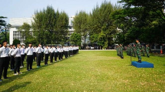 VIVA Militer: 259 calon prajurit TNI AL Panda Lantamal III Jakarta