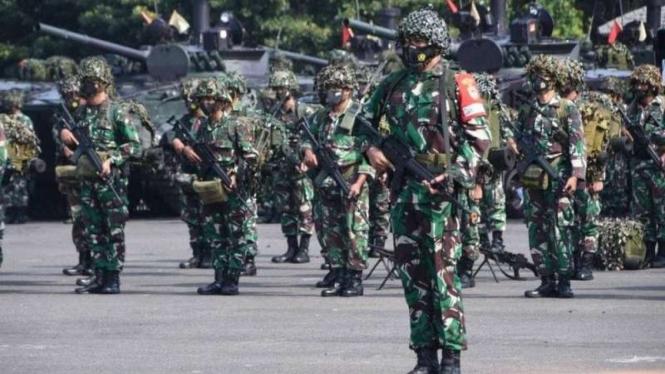 VIVA Militer: Prajurit Pasukan Marinir (Pasmar) 1 TNI Angkatan Laut