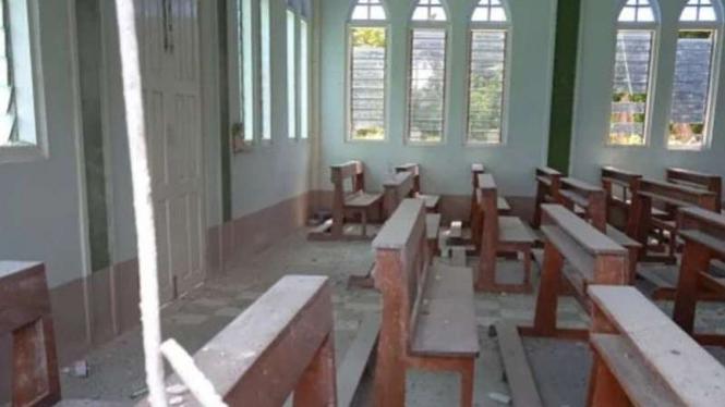 Gereja-gereja jadi sasaran militer Myanmar