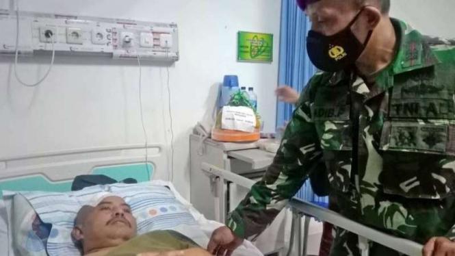VIVA Militer: Peltu Marinir Adib Priyanjoto dirawat di RSUD Jombang