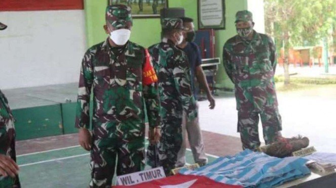 VIVA Militer: Dandim 1709/Yawa terima penyerahan senyata simpatisan OPM