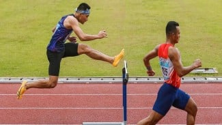 Atlet Atletik, Halomoan E.B asal Jawa Barat