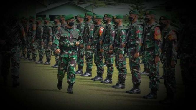 VIVA Militer: Yonif  123/Rajawali.