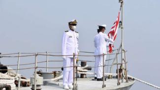 VIVA Militer: Danpushidrosal pimpin upacara penghapusan KRI Pulau Rempang-729
