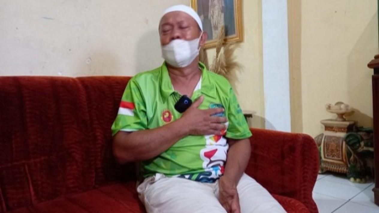 Yosef, suami dari korban kasus pembunuhan di Subang