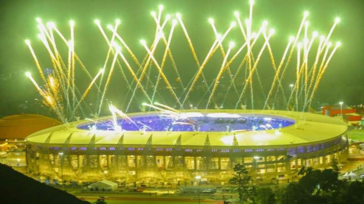 Penutupan PON XX Papua di Stadion Lukas Enembe.
