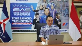 Ketua Fraksi Partai Demokrat DPR, Edhie Baskoro Yudhoyono alias Ibas.