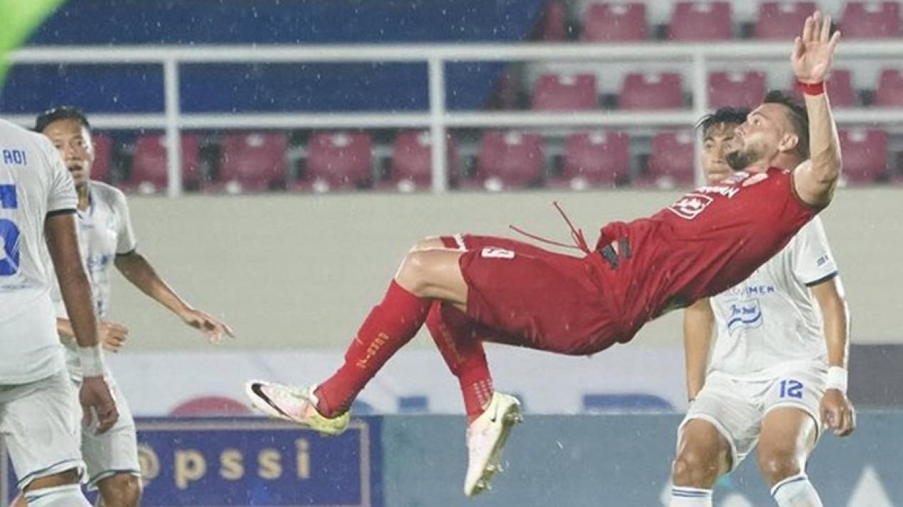 Pertandingan Persija Jakarta vs Arema FC