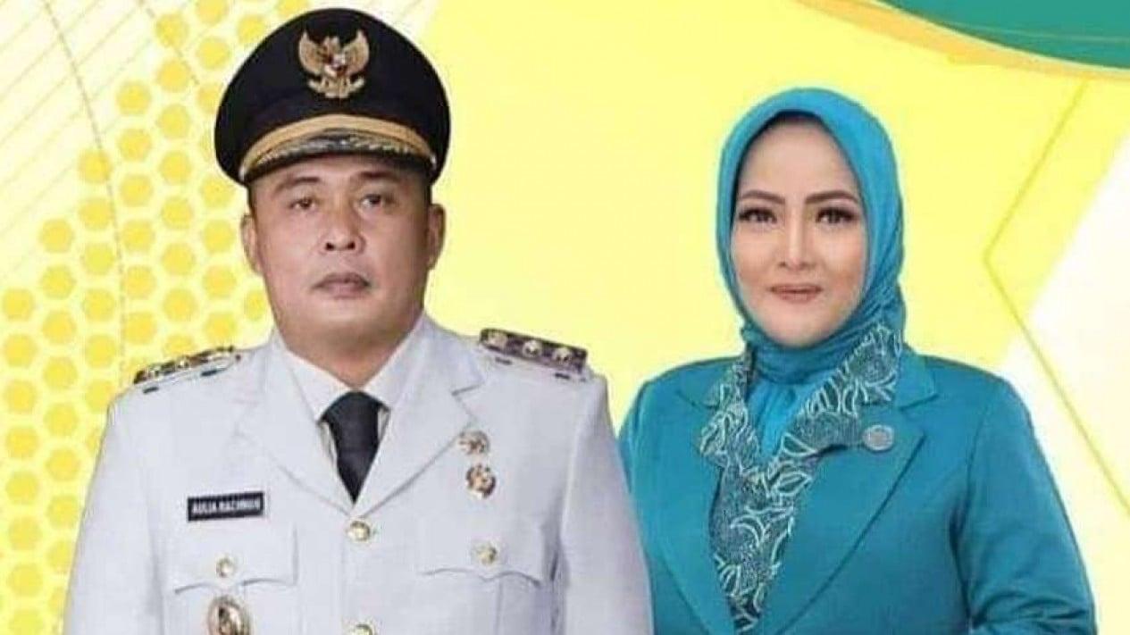 Wakil Wali Kota Medan Aulia Rachman dan Istri tercinta Alm. Shaula Arindianti.