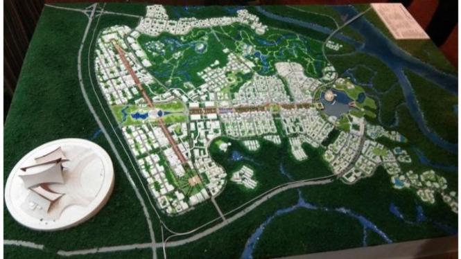 Rencana pembangunan ibu kota baru