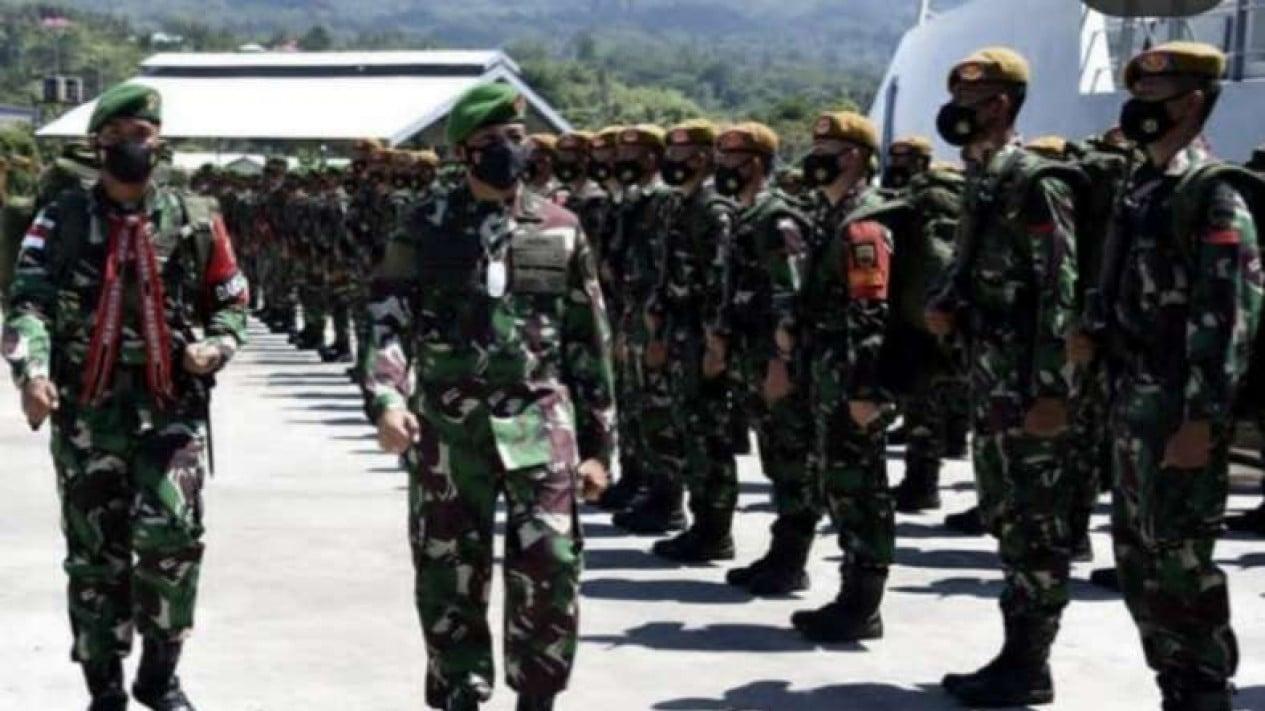 VIVA Militer: Kasdam XVI/Ptm sambut kedatangan Yonarhanudse 11/WBY di Maluku