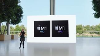 Chipset M1 Pro dan M1 Max.