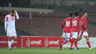 Pertandingan Timnas Indonesia U-23 vs Tajikistan