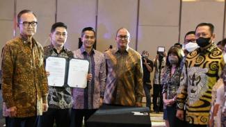 Pelantikan Pengurus Kadin Indonesia.