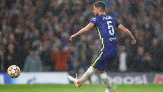 Gelandang Chelsea, Jorginho.