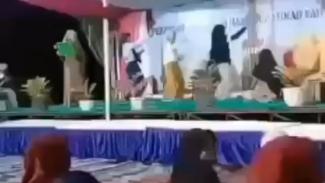 Viral Tiga Wanita Joget TikTok di Acara Maulid Nabi (Instagram/fakta.indo)