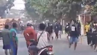 Viral Tawuran di Lamongan (Instagram/andreli48)