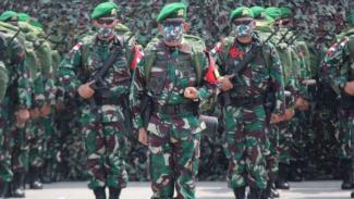 VIVA Militer: Satgas Pamtas RI-PNG Yonif 410/Alugoro