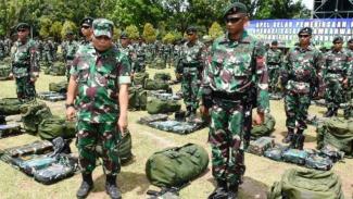 VIVA Militer: Satgas Pamrahwan Yonif Raider Khusus 732/Banau