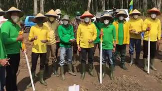 Usaha Bakrie Group menanam padi gogo di Lampung