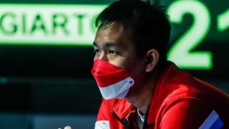 Hendra Setiawan jadi pelatih dadakan di Denmark Open 2021