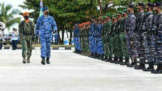 VIVA Militer: Marsekal TNI Fadjar Prasetyo resmikan satuan di Natuna