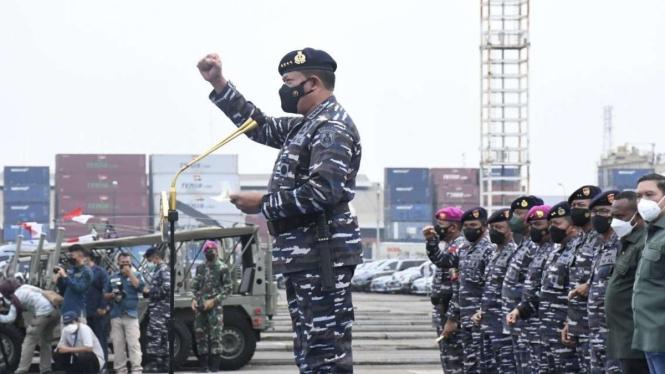 VIVA Militer: KSAL kerahkan 4300 prajurit TNI Angkatan Laut serbu Dabo Singkep
