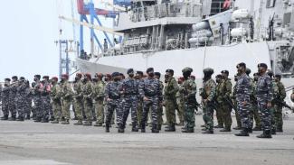 VIVA Militer: KSAL periksa kesiapan prajurit dalam Apel Gelar Pasukan Latopsfib