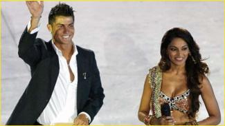 Cristiano Ronaldo dan Bipasha Basu