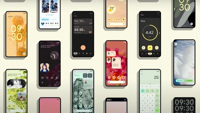 Sistem Operasi Android 12.