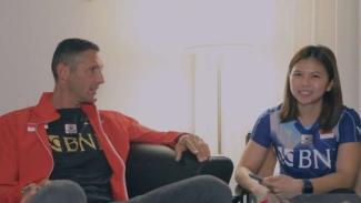 Legenda Inter Milan, Marco Materazzi dan Greysia Polii.