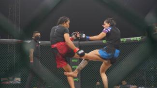 Melpida Sitohang vs Inandya Citra di Fight Night 51 One Pride MMA