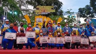 Banten dan Jawa Barat juara umum bersama Potradnas 2021