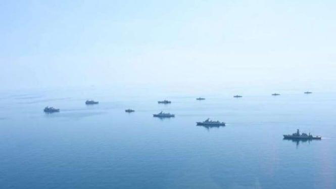 VIVA Militer: Armada kapal perang TNI Angkatan Laut