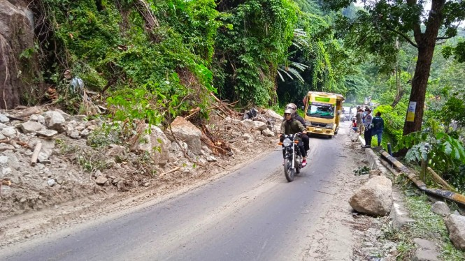 Lokasi Longsor di Kabupaten Deli Serdang, Sumatera Utara