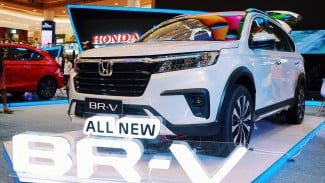 All New Honda BR-V dipamerkan di Medan.