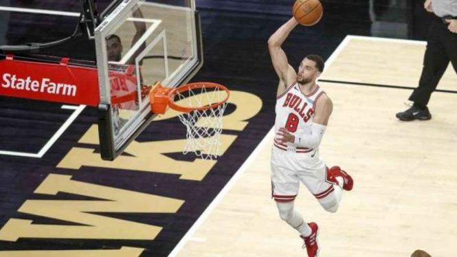 Pemain Chicago Bulls, Zach LaVine.