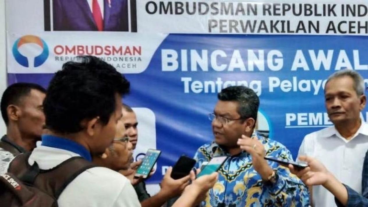 Kepala Ombudsman Republik Indonesia Perwakilan Aceh Taqwaddin Husin.