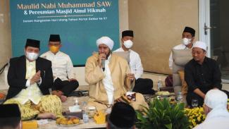 Maulid Nabi Muhammad dan Peresmian Masjid Ainul Hikmah DPP Golkar