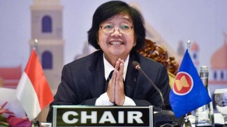 Menteri LHK Siti Nurbaya di ASEANYouCAN-AMME.